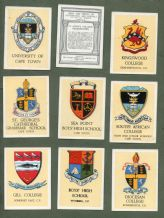 Collectable Tobacco cigarette cards set Arms & Crests of Universities 1930
